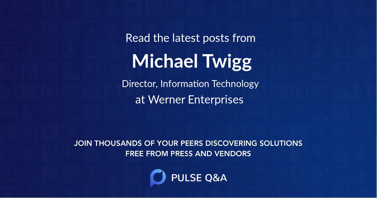 Michael Twigg
