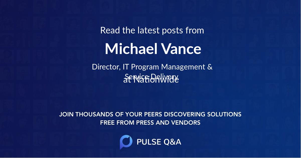 Michael Vance