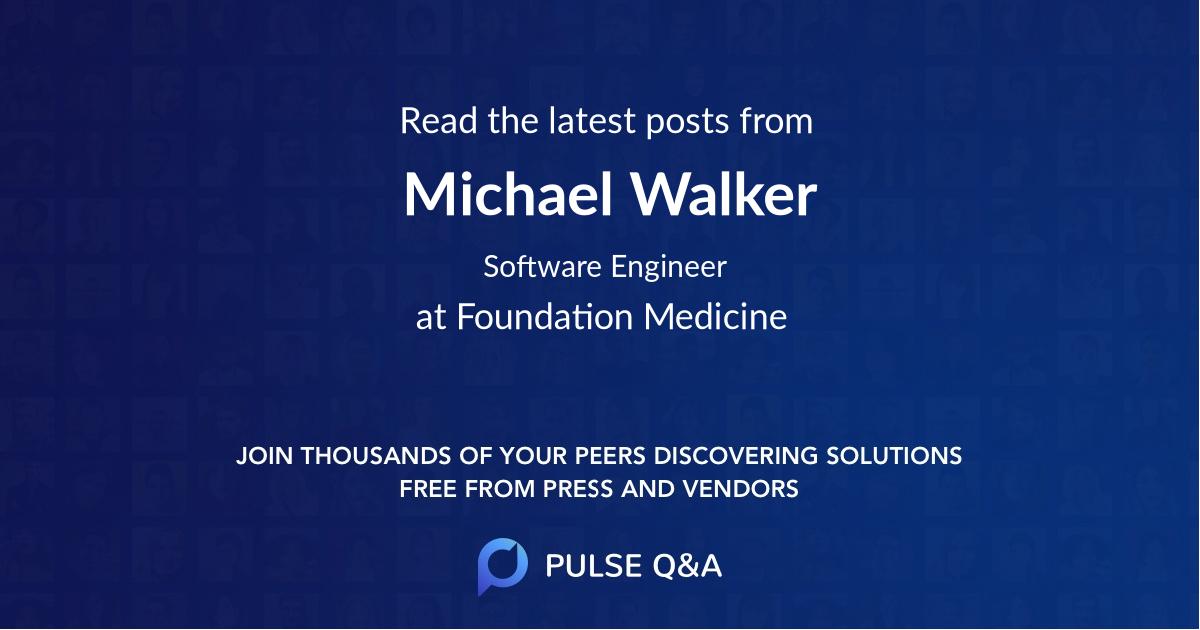 Michael Walker