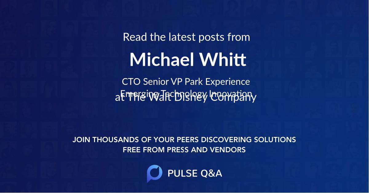 Michael Whitt