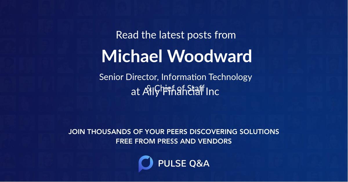 Michael Woodward