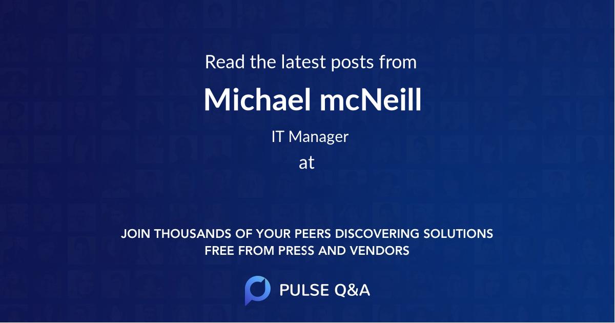 Michael mcNeill