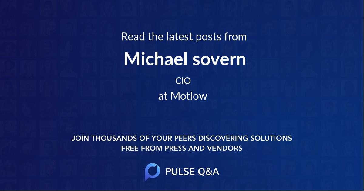 Michael sovern