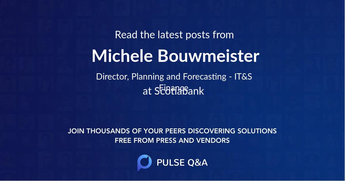 Michele Bouwmeister