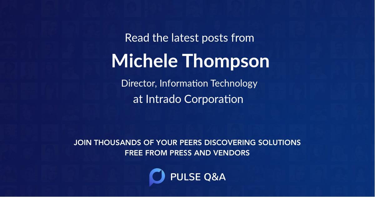 Michele Thompson