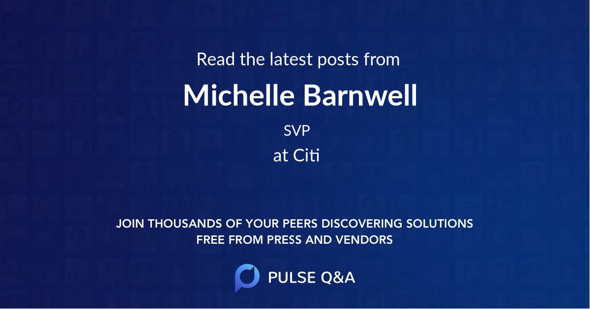 Michelle Barnwell