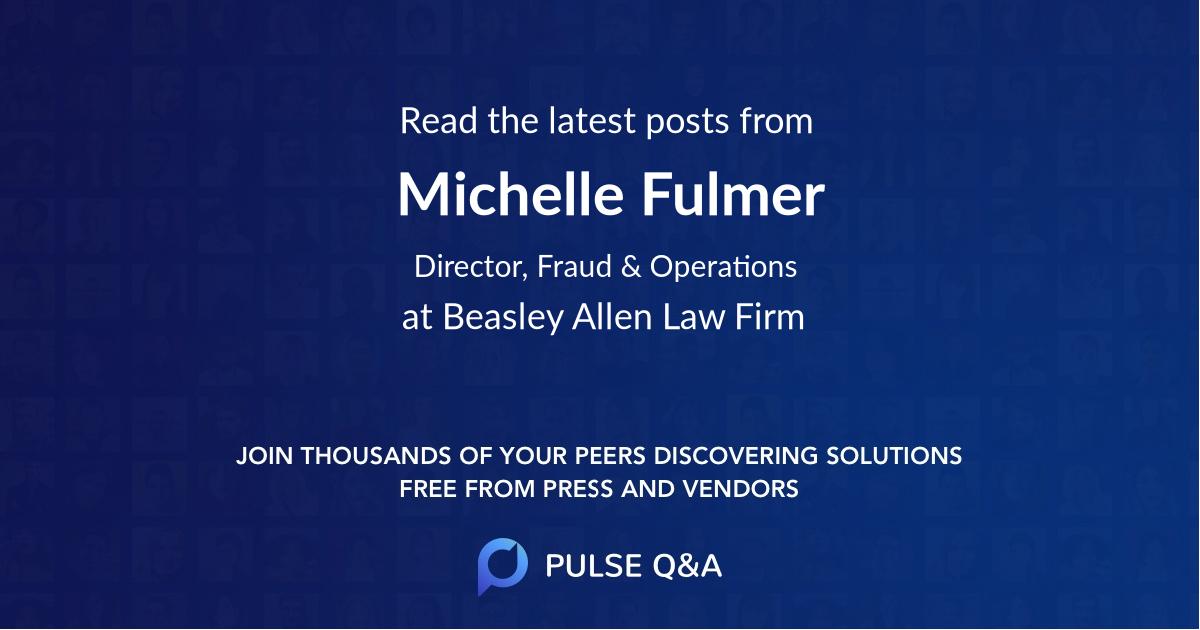 Michelle Fulmer