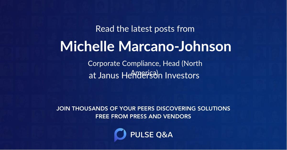 Michelle Marcano-Johnson