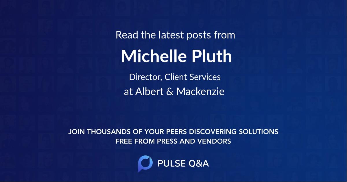 Michelle Pluth