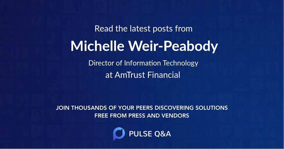 Michelle Weir-Peabody