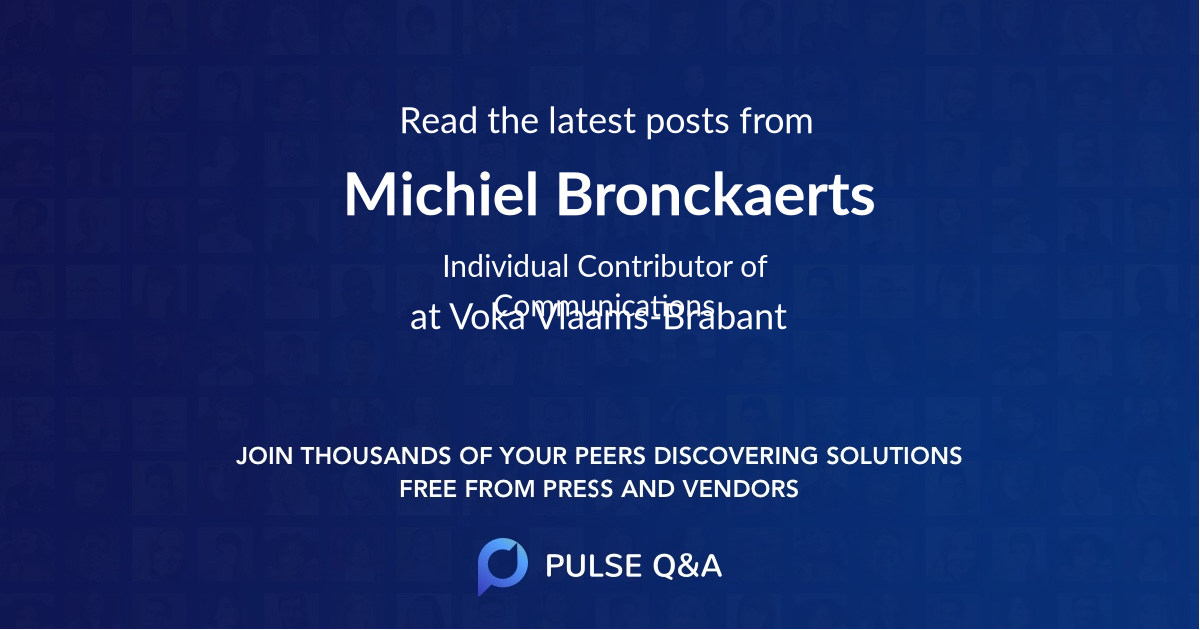 Michiel Bronckaerts