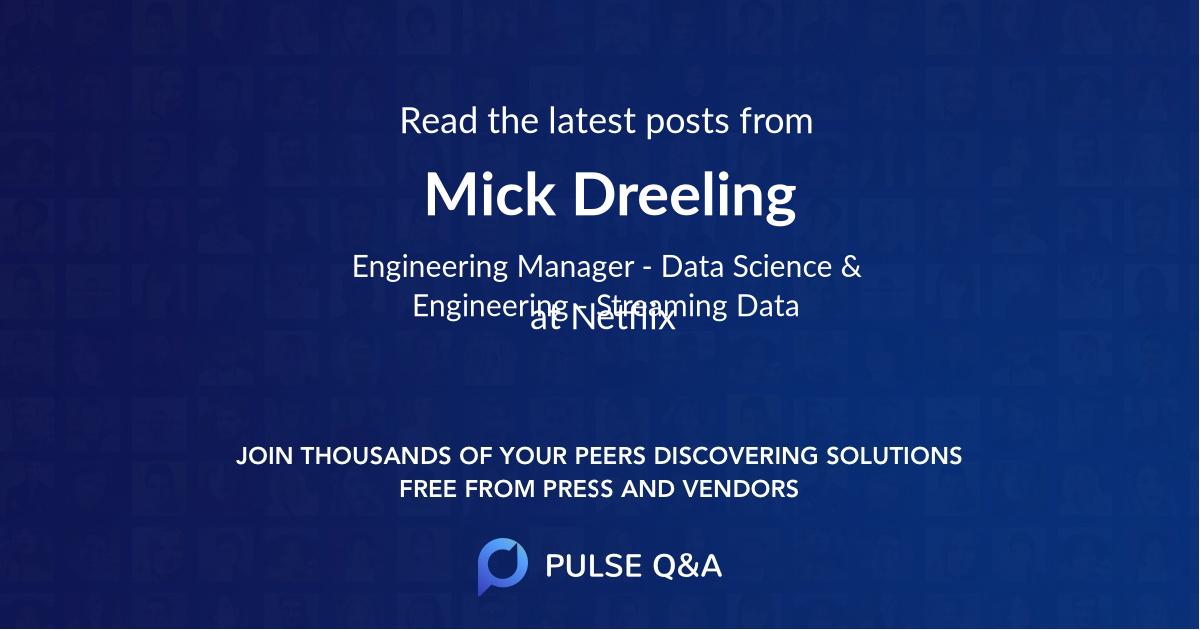 Mick Dreeling