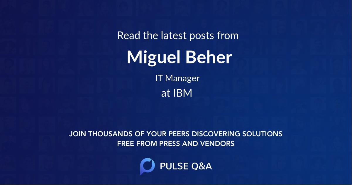 Miguel Beher