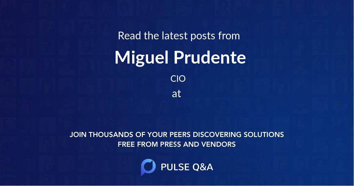 Miguel Prudente