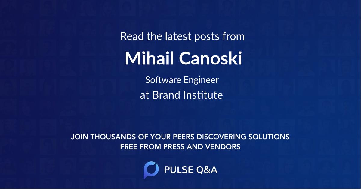 Mihail Canoski