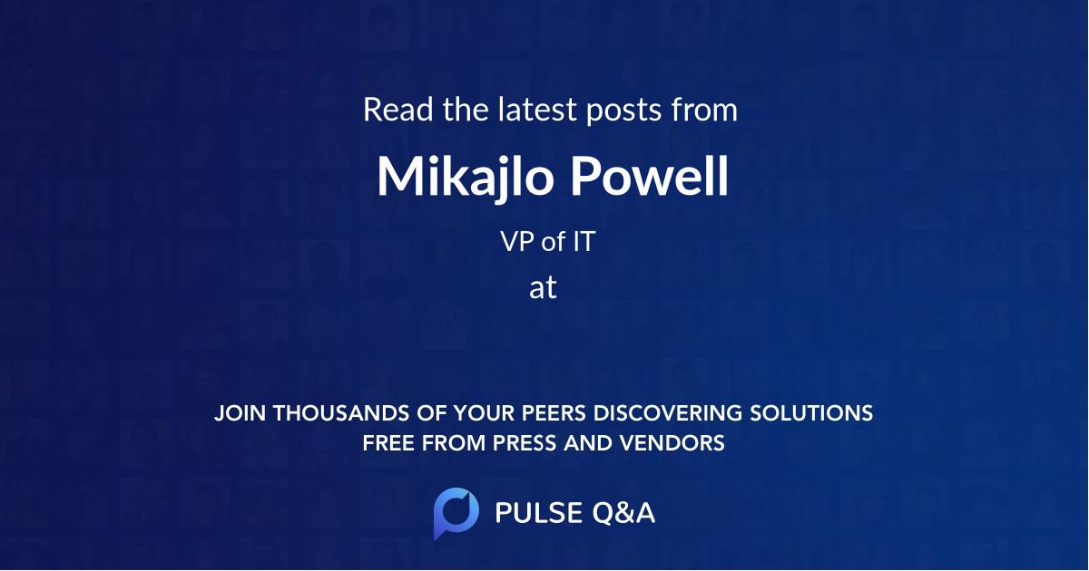 Mikajlo Powell