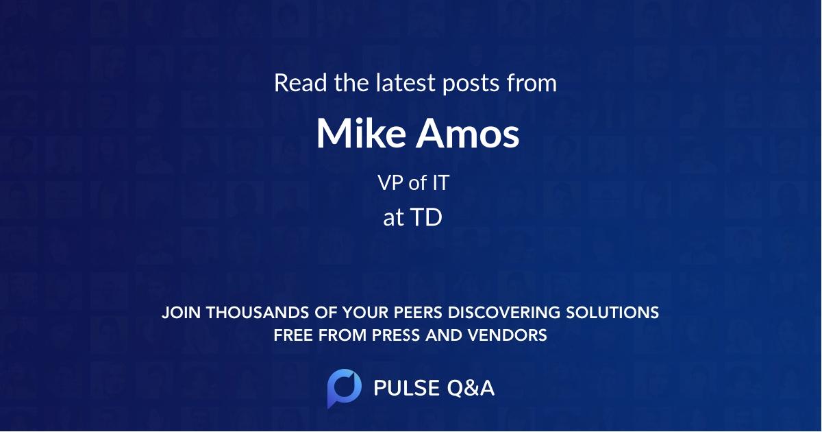 Mike Amos