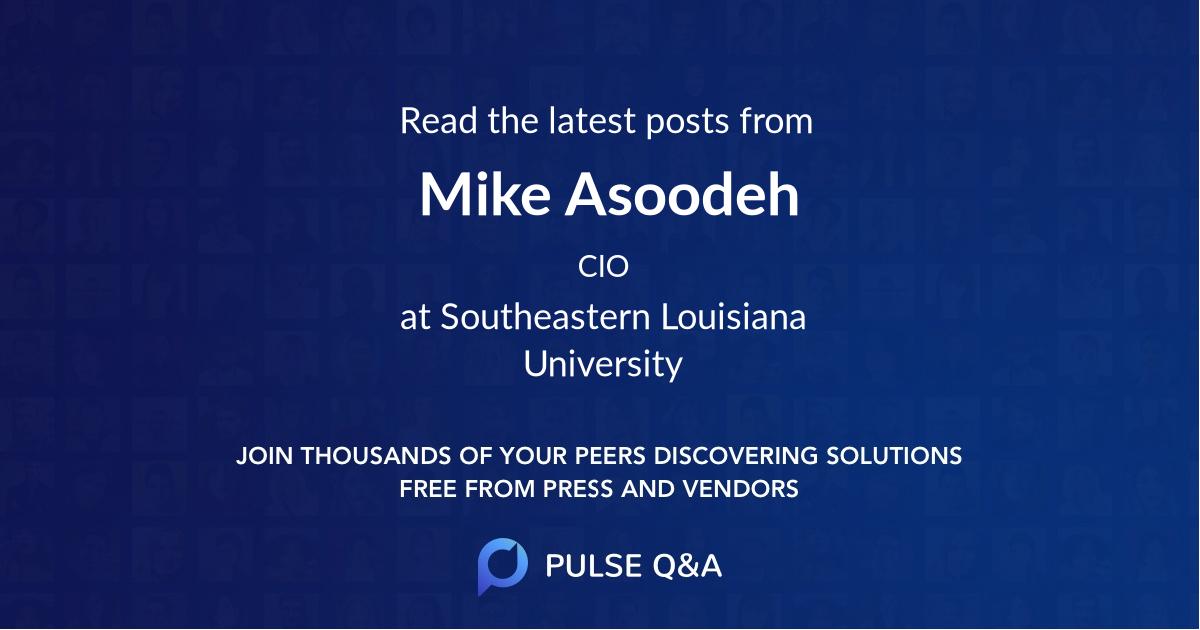 Mike Asoodeh