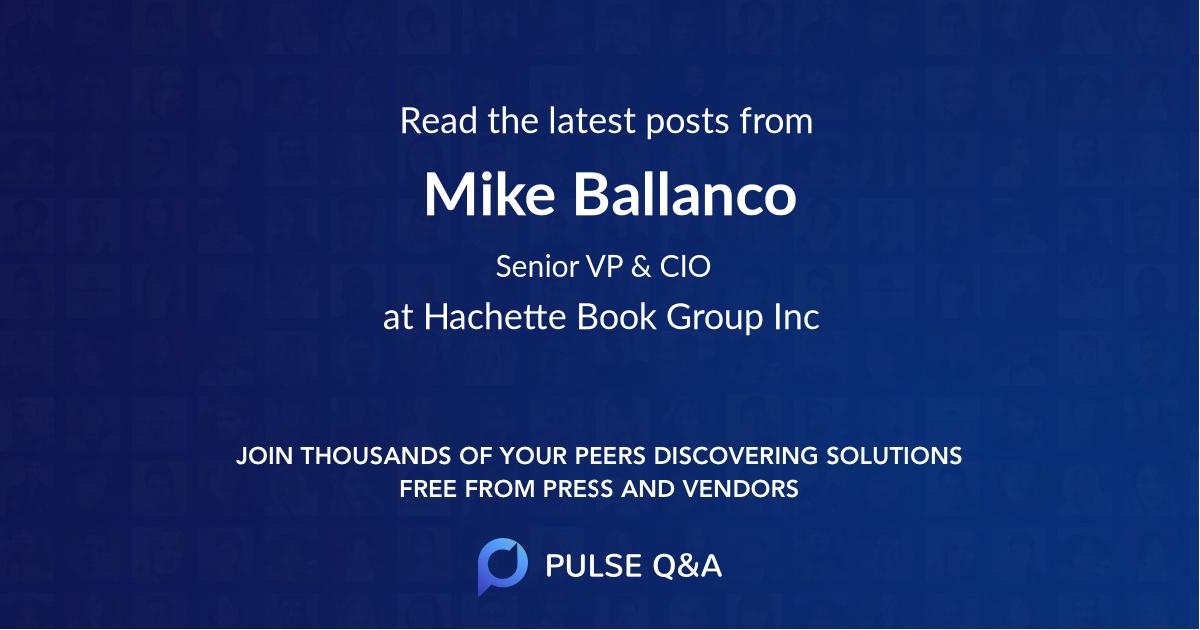 Mike Ballanco