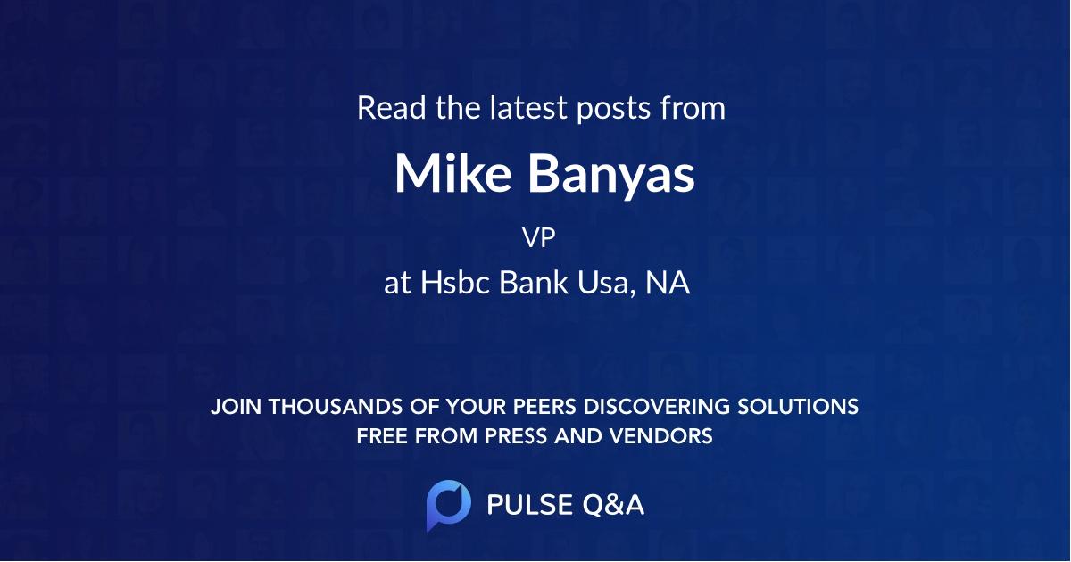 Mike Banyas