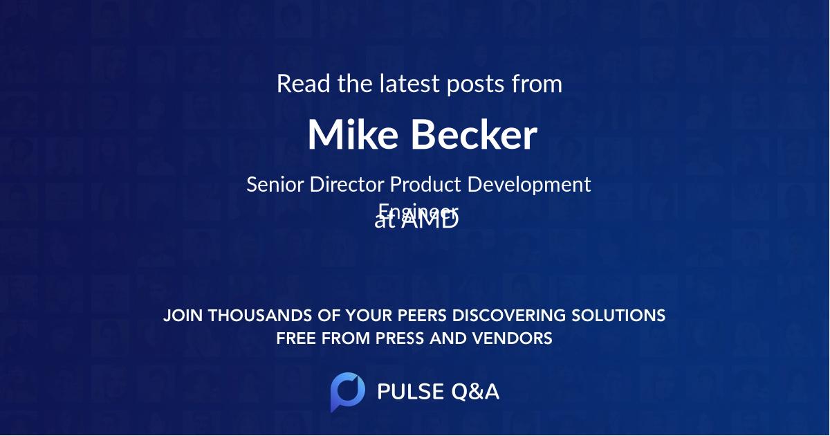 Mike Becker