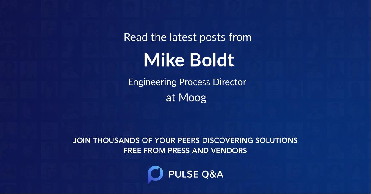 Mike Boldt