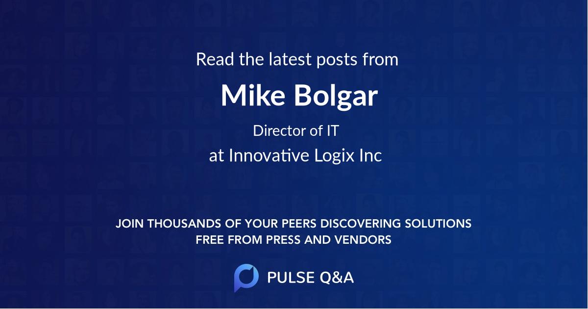 Mike Bolgar