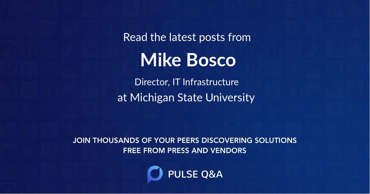 Mike Bosco