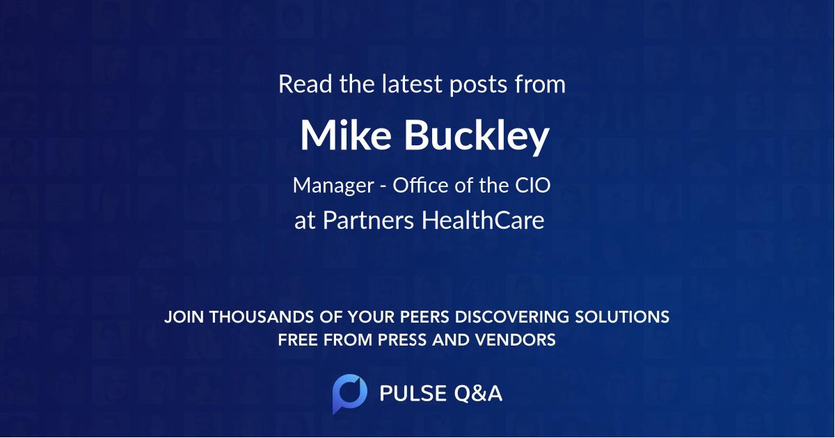 Mike Buckley