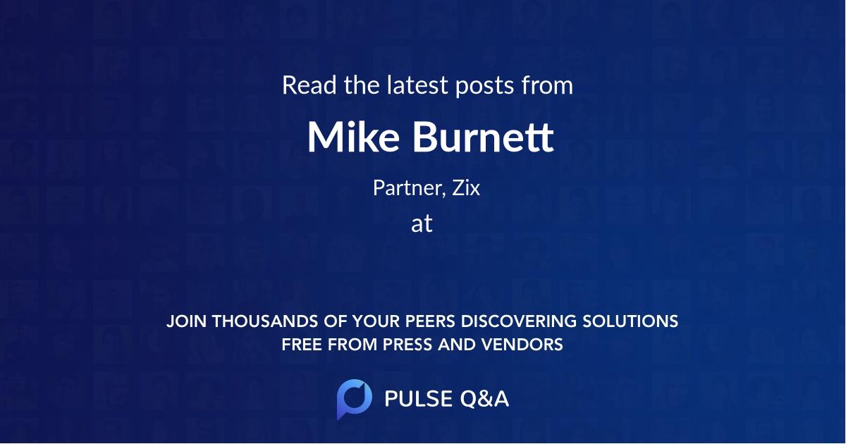 Mike Burnett