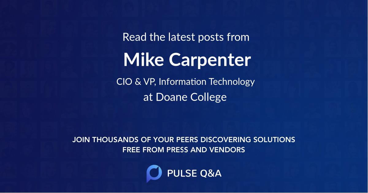 Mike Carpenter