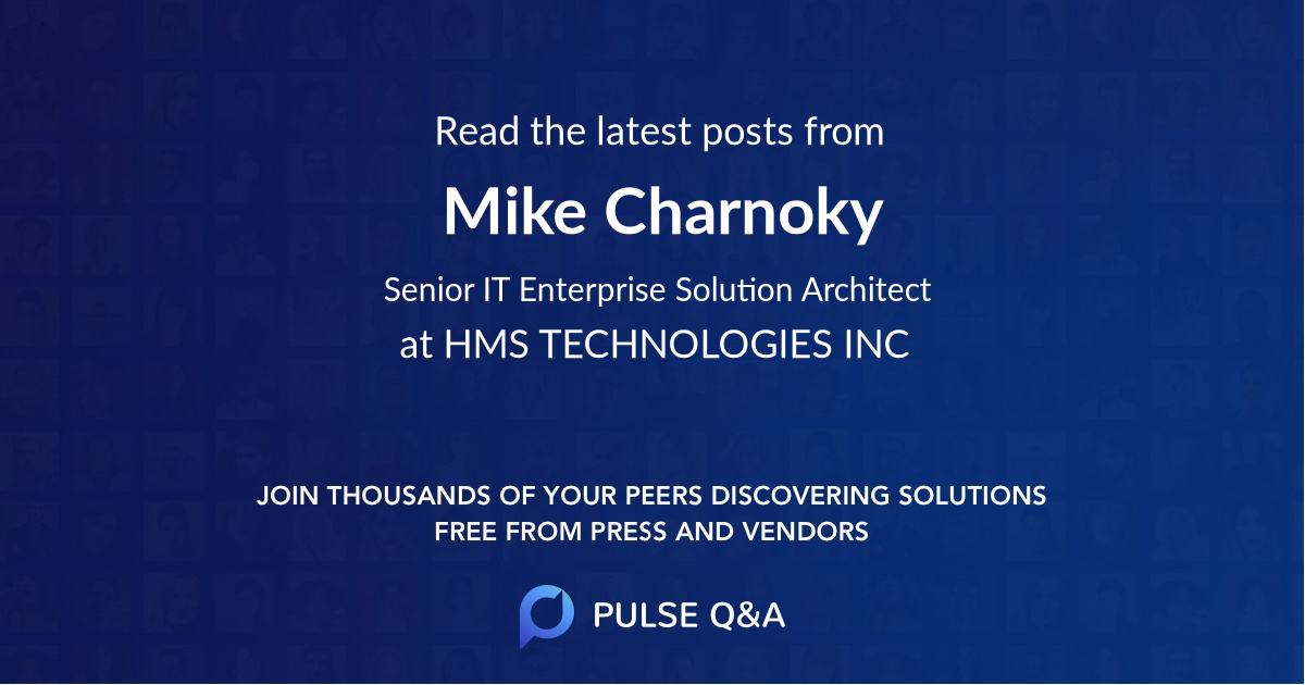 Mike Charnoky