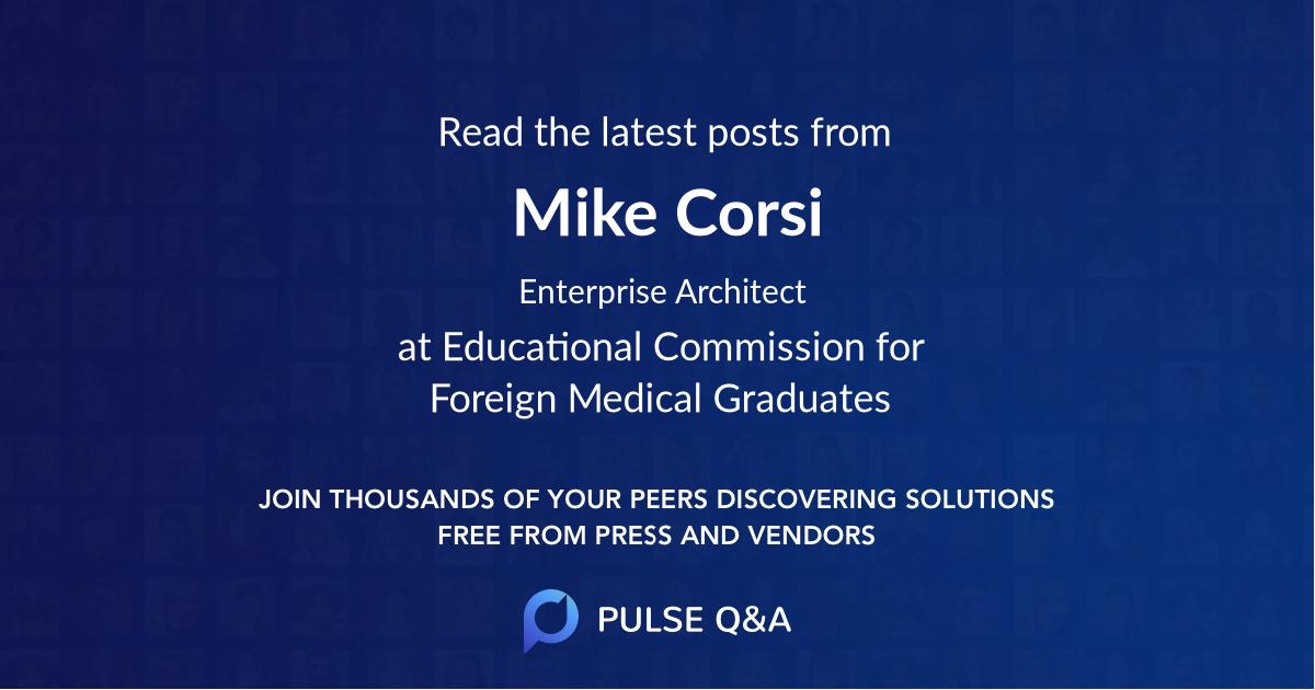 Mike Corsi