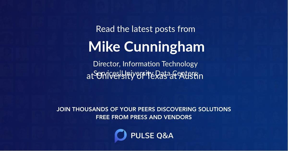 Mike Cunningham