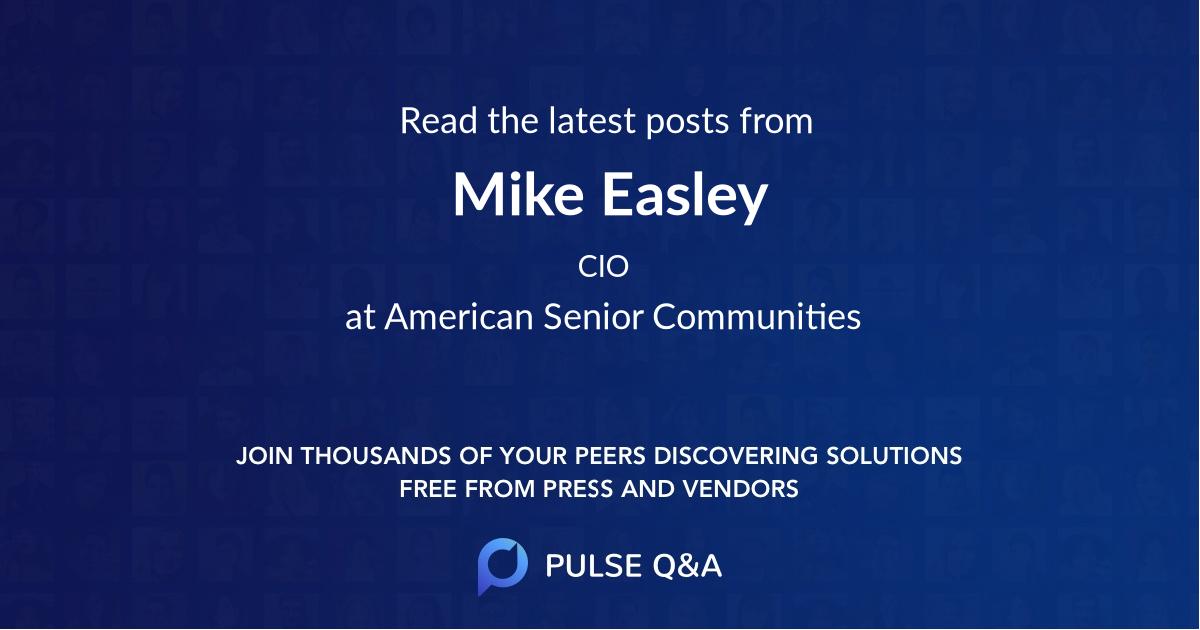 Mike Easley