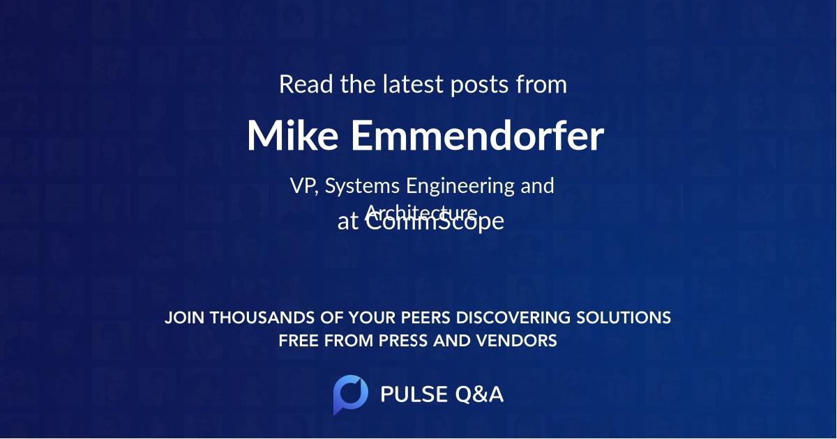 Mike Emmendorfer