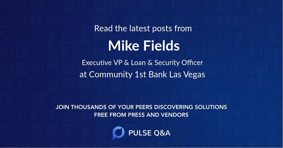 Mike Fields