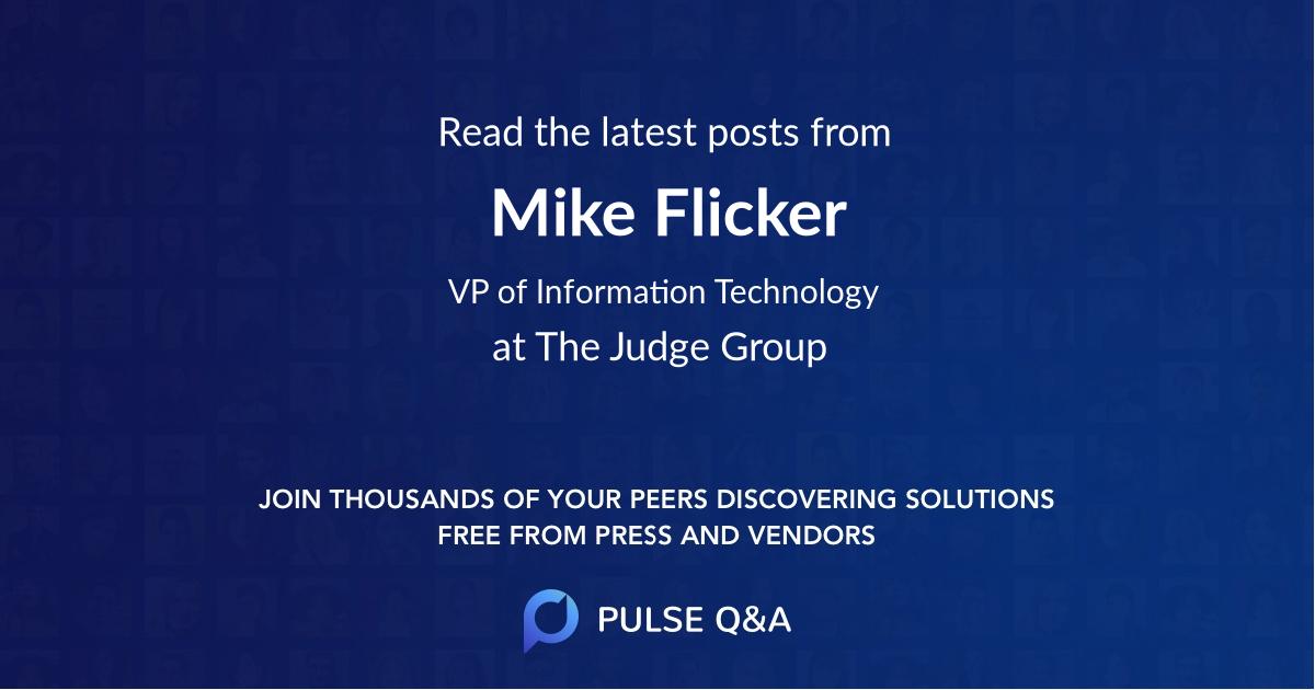 Mike Flicker