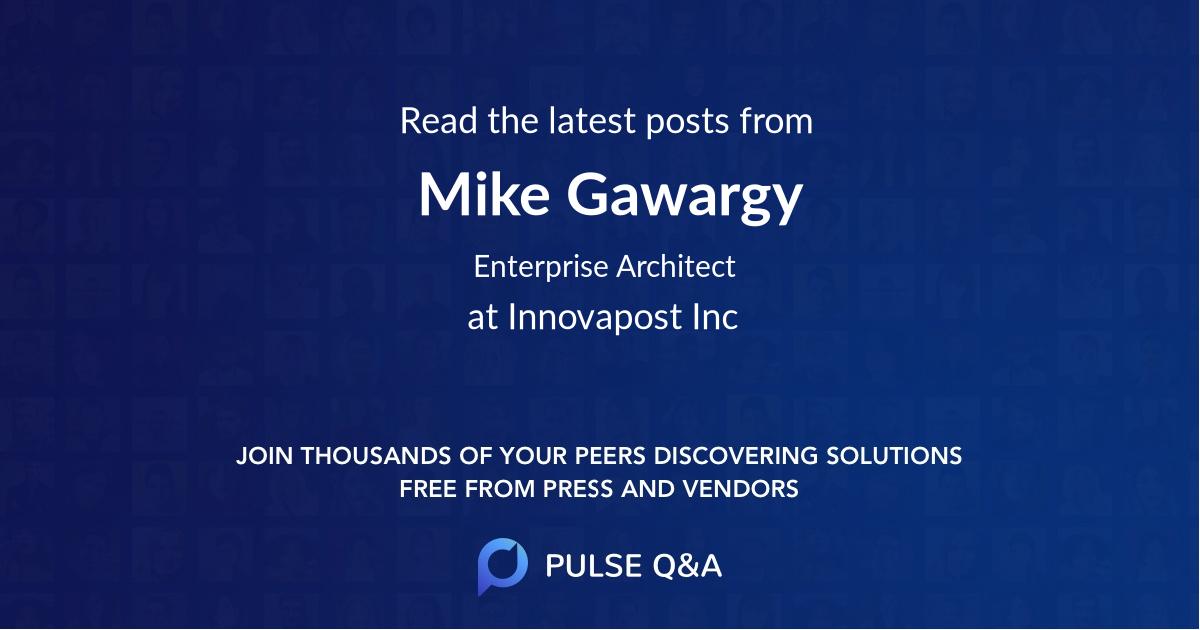 Mike Gawargy