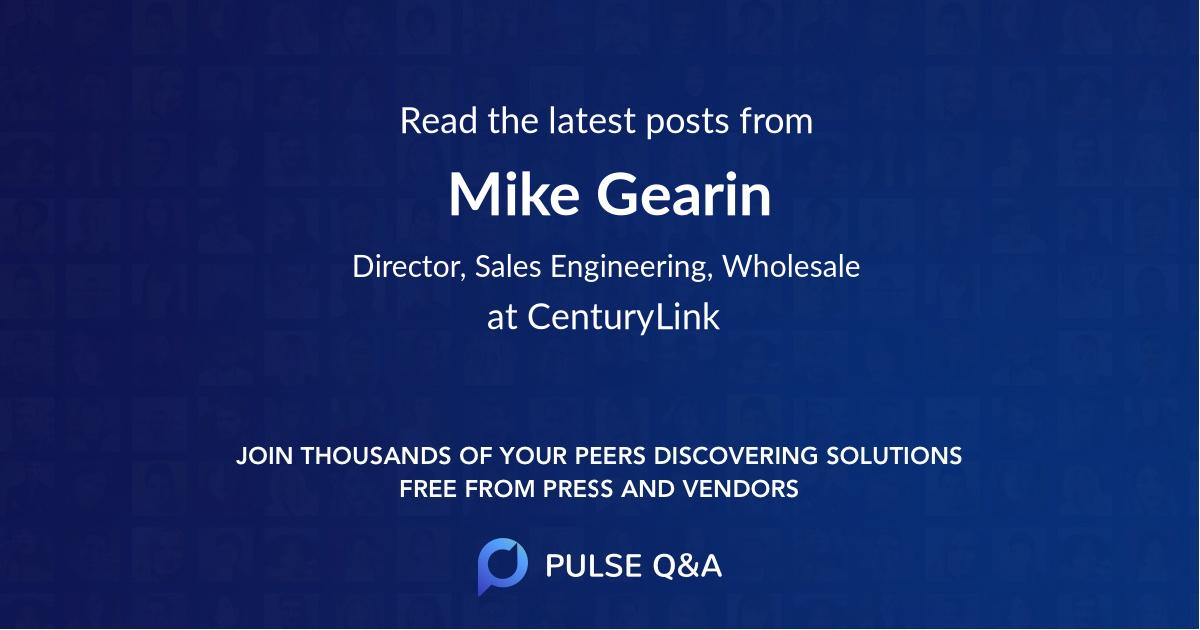 Mike Gearin