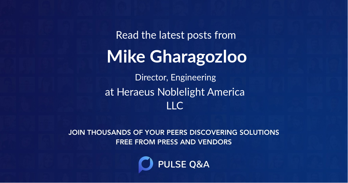 Mike Gharagozloo