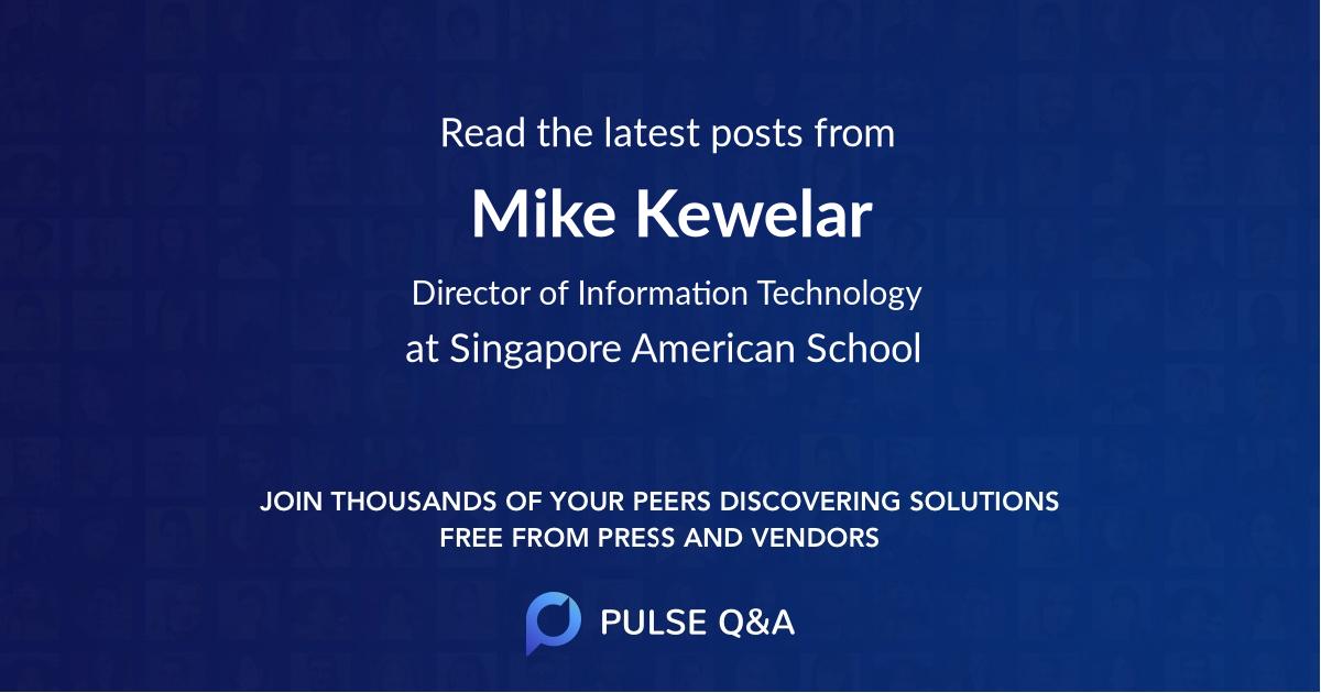 Mike Kewelar