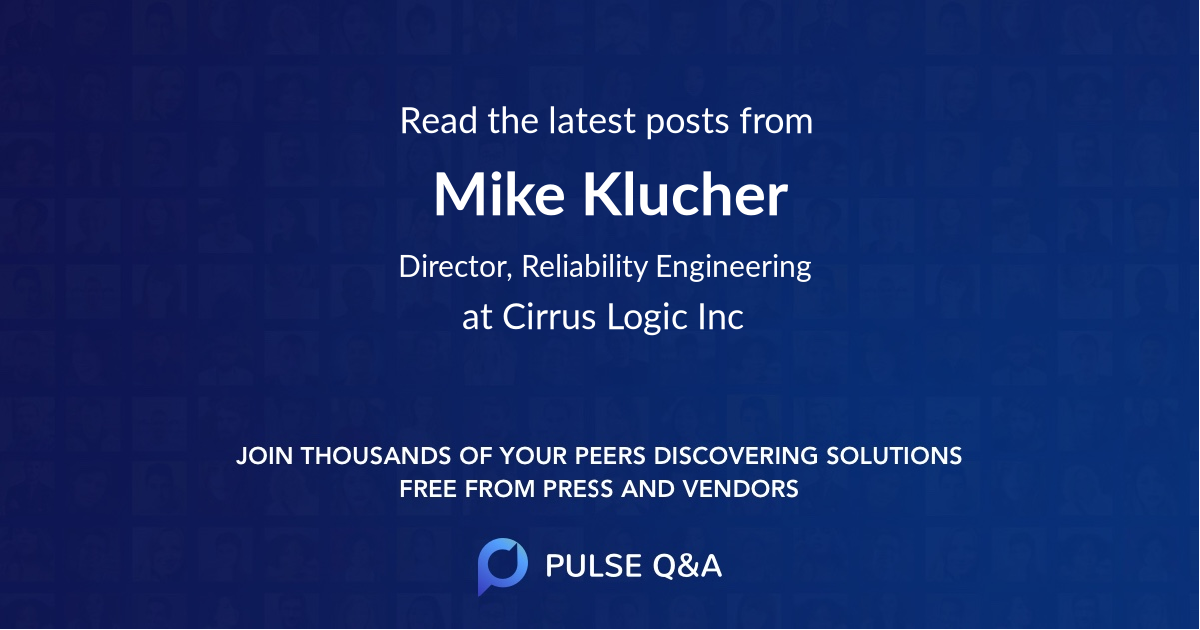 Mike Klucher