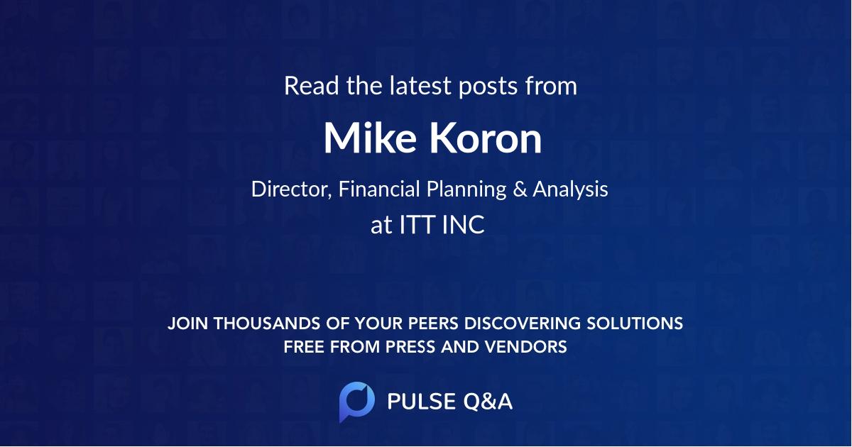 Mike Koron