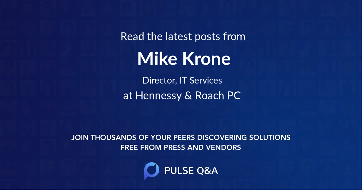 Mike Krone