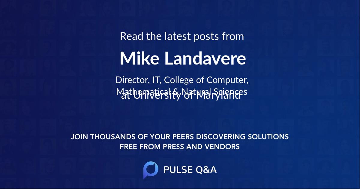 Mike Landavere