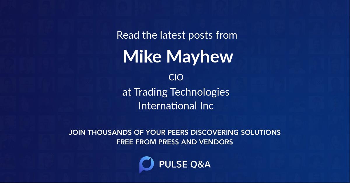 Mike Mayhew