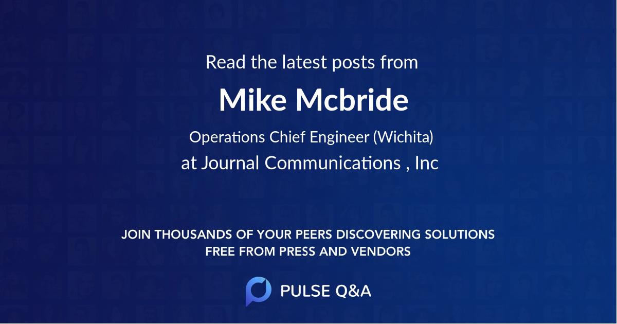 Mike Mcbride