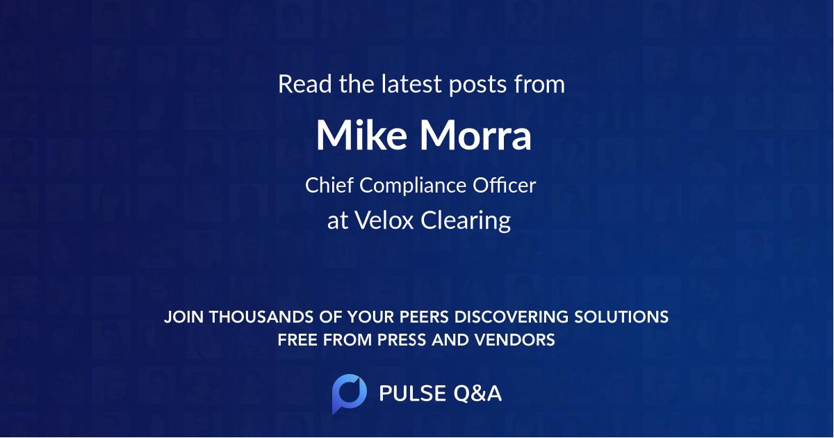 Mike Morra