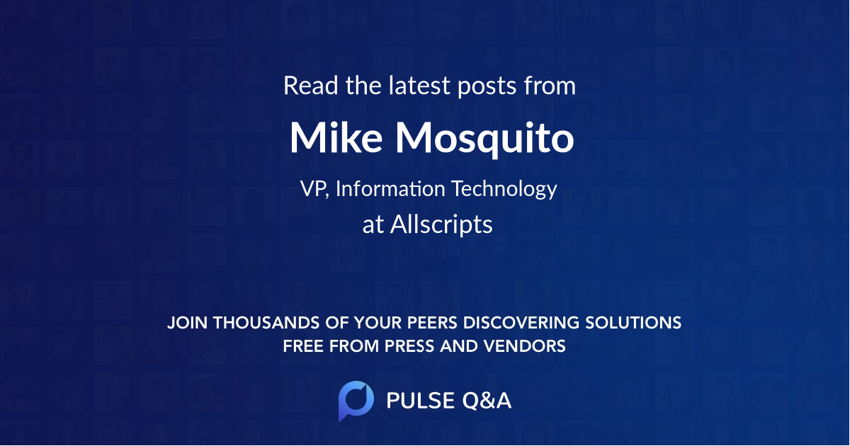 Mike Mosquito